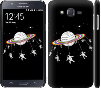 Чехол на Samsung Galaxy J7 J700H Лунная карусель