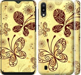 Чехол на Samsung Galaxy M10 Красивые бабочки