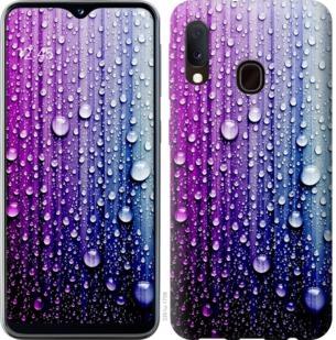Чехол на Samsung Galaxy A20e A202F Капли воды