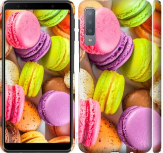 Чехол на Samsung Galaxy A7 (2018) A750F Макаруны