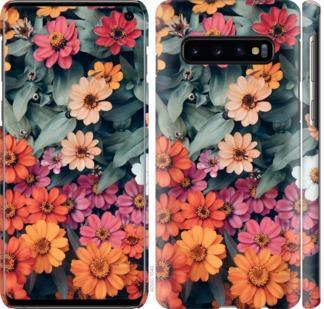 Чехол на Samsung Galaxy S10 Beauty flowers