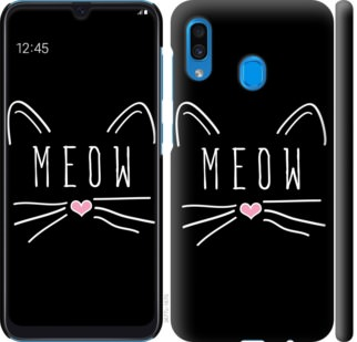 Чехол на Samsung Galaxy A20 2019 A205F Kitty