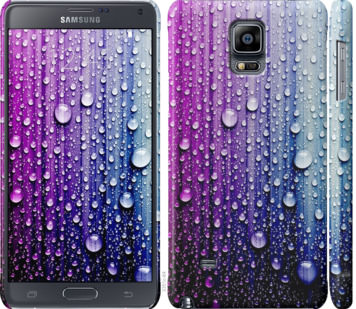 Чехол на Samsung Galaxy Note 4 N910H Капли воды