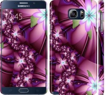 Чехол на Samsung Galaxy Note 5 N920C Цветочная мозаика