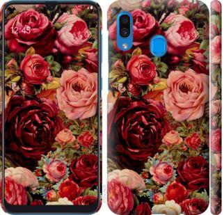 Чехол на Samsung Galaxy A20 2019 A205F Цветущие розы