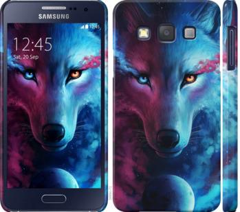 Чехол на Samsung Galaxy A3 A300H Арт-волк