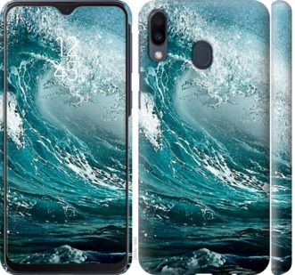Чехол на Samsung Galaxy M20 Морская волна