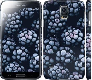 Чехол на Samsung Galaxy S5 g900h Морозная ежевика