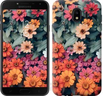 Чехол на Samsung Galaxy J4 2018 Beauty flowers