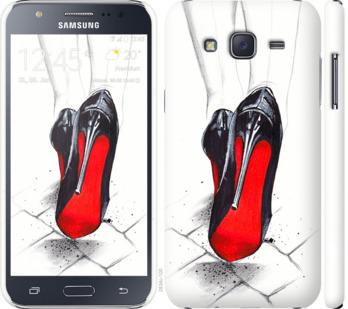 Чехол на Samsung Galaxy J5 (2015) J500H Devil Wears Louboutin