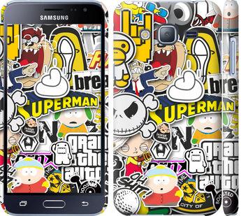 Чехол на Samsung Galaxy J3 Duos (2016) J320H Popular logos