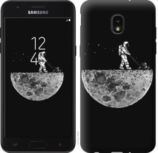 Чехол на Samsung Galaxy J7 2018 Moon in dark