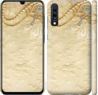 Чехол на Samsung Galaxy A70 2019 A705F Кружевной орнамент