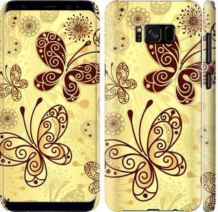 Чехол на Samsung Galaxy S8 Красивые бабочки