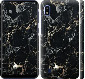 Чехол на Samsung Galaxy A10 2019 A105F Черный мрамор