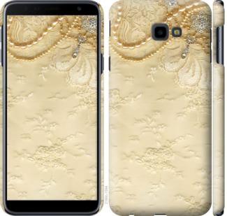 Чехол на Samsung Galaxy J4 Plus 2018 Кружевной орнамент