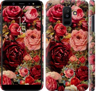 Чехол на Samsung Galaxy A6 Plus 2018 Цветущие розы