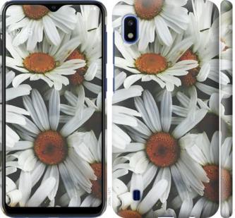 Чехол на Samsung Galaxy A10 2019 A105F Ромашки v2