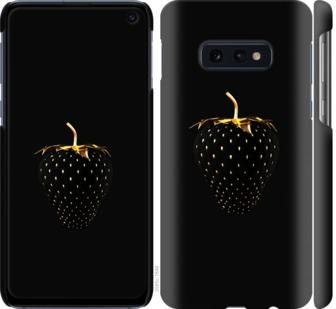 Чехол на Samsung Galaxy S10e Черная клубника