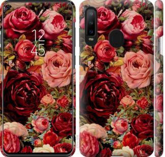Чехол на Samsung Galaxy A8S Цветущие розы