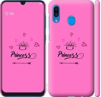 Чехол на Samsung Galaxy A20 2019 A205F Princess
