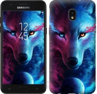 Чехол на Samsung Galaxy J7 2018 Арт-волк