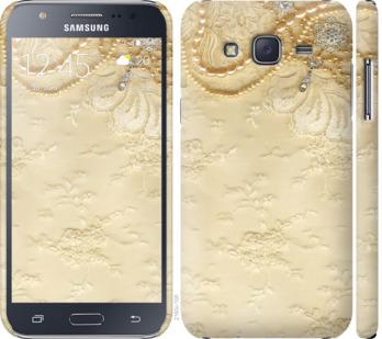 Чехол на Samsung Galaxy J5 (2015) J500H Кружевной орнамент