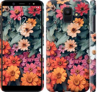 Чехол на Samsung Galaxy A6 2018 Beauty flowers