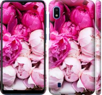 Чехол на Samsung Galaxy A10 2019 A105F Розовые пионы
