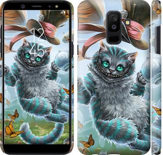 Чехол на Samsung Galaxy A6 Plus 2018 Чеширский кот 2