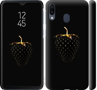 Чехол на Samsung Galaxy M20 Черная клубника