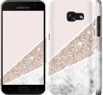 Чехол на Samsung Galaxy A3 (2017) Пастельный мрамор