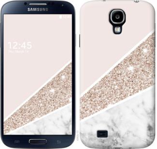 Чехол на Samsung Galaxy S4 i9500 Пастельный мрамор