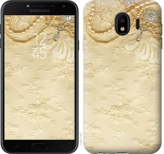 Чехол на Samsung Galaxy J4 2018 Кружевной орнамент