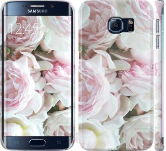 Чехол на Samsung Galaxy S6 Edge G925F Пионы v2