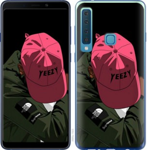 Чехол на Samsung Galaxy A9 (2018) logo de yeezy