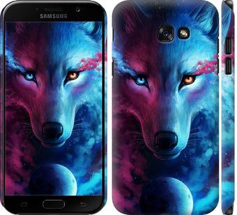 Чехол на Samsung Galaxy A7 (2017) Арт-волк