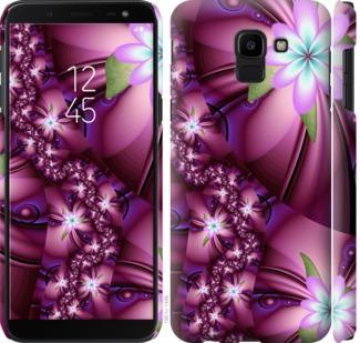 Чехол на Samsung Galaxy J6 2018 Цветочная мозаика