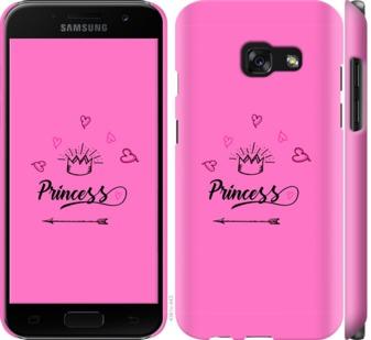 Чехол на Samsung Galaxy A3 (2017) Princess
