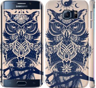 Чехол на Samsung Galaxy S6 Edge G925F Узорчатая сова