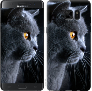 Чехол на Samsung Galaxy Note 7 Duos N930F Красивый кот