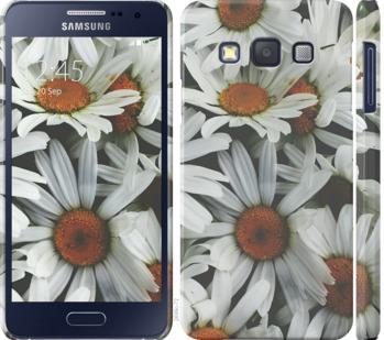 Чехол на Samsung Galaxy A3 A300H Ромашки v2