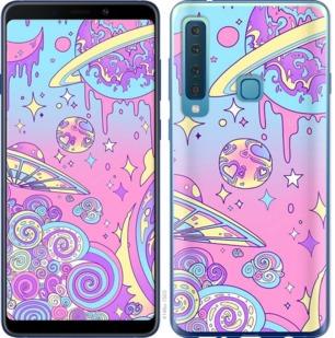 Чехол на Samsung Galaxy A9 (2018) Розовая галактика