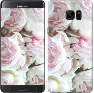 Чехол на Samsung Galaxy Note 7 Duos N930F Пионы v2