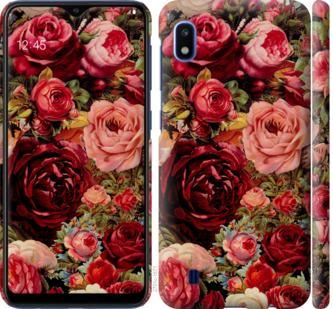 Чехол на Samsung Galaxy A10 2019 A105F Цветущие розы