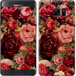 Чехол на Samsung Galaxy Note 7 Duos N930F Цветущие розы