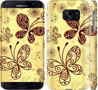 Чехол на Samsung Galaxy S7 G930F Красивые бабочки