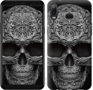 Чехол на Samsung Galaxy A6s skull-ornament