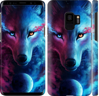 Чехол на Samsung Galaxy S9 Арт-волк