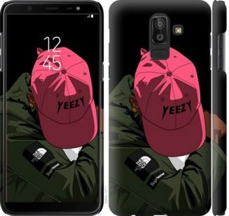 Чехол на Samsung Galaxy J8 2018 logo de yeezy